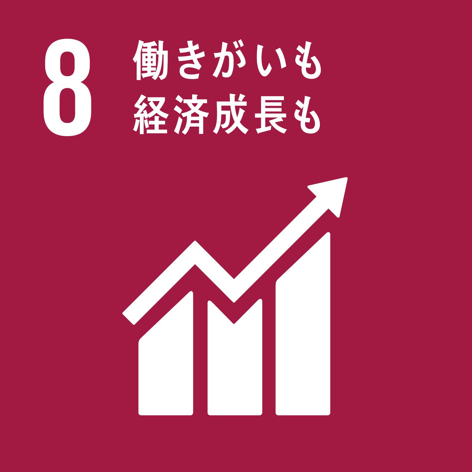 目標8: 働きがいも経済成長も